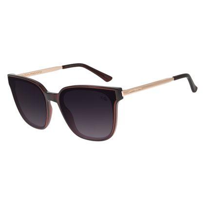 Óculos de Sol Feminino Chilli Beans Quadrado Vinho OC.CL.2919-2017