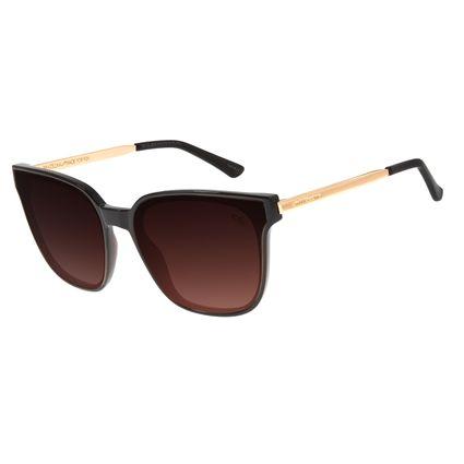 Óculos de Sol Feminino Chilli Beans Quadrado Marrom OC.CL.2919-5702