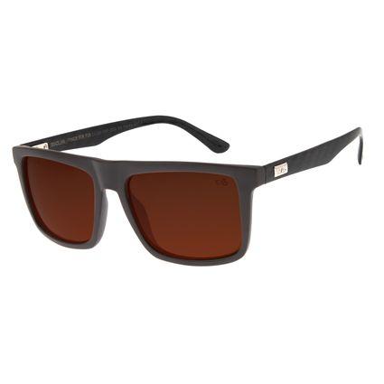 Óculos de Sol Masculino Chilli Beans New Sport Marrom Polarizado OC.ES.1197-0202