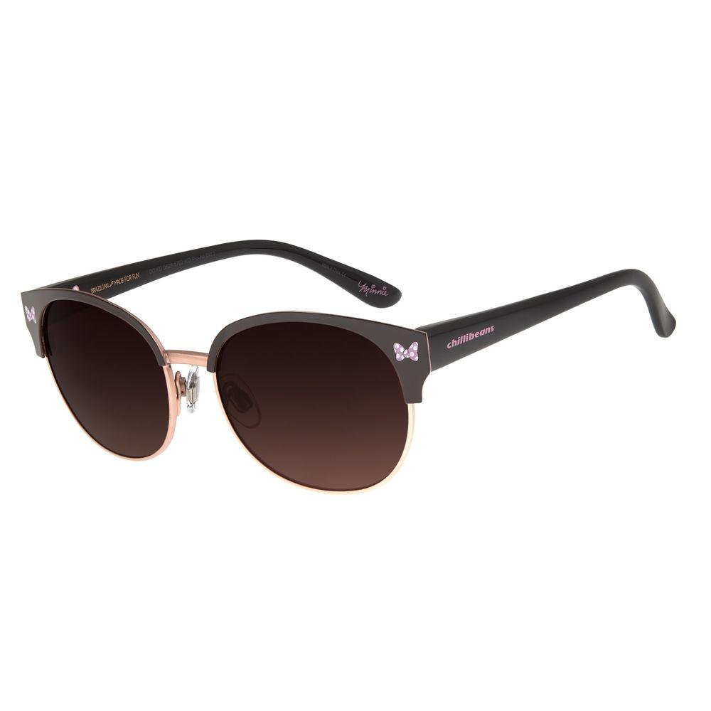 Óculos de Sol Infantil Chilli Beans Disney Minnie Marrom OC.KD.0628-5702