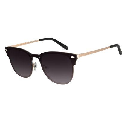 Óculos de Sol Masculino Chilli Beans Redondo Dourado OC.MT.2757-2021