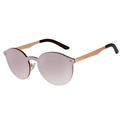 Óculos de Sol Feminino Chilli Beans Redondo Rosê OC.MT.2770-0795