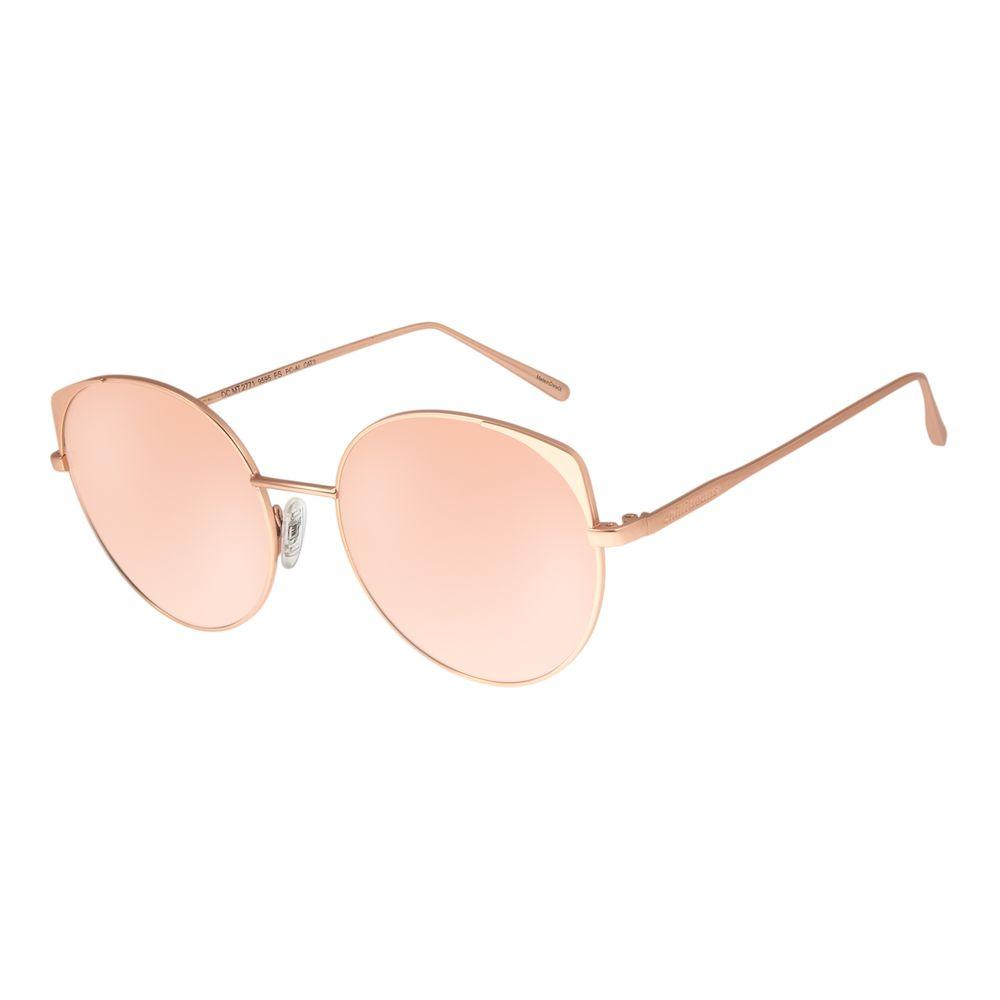 Óculos de Sol Feminino Chilli Beans Banhado A Ouro Rosê OC.MT.2771-9595