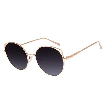 Óculos de Sol Feminino Chilli Beans Banhado A Ouro Rosê OC.MT.2771-2095