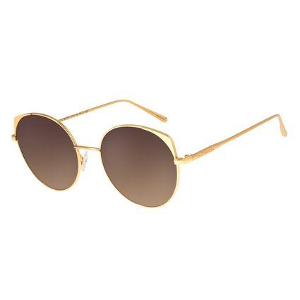 Óculos de Sol Feminino Chilli Beans Banhado A Ouro Dourado OC.MT.2771-5721
