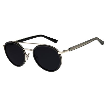 Óculos de Sol Unissex Chilli Beans Redondo Preto OC.MT.2776-0101