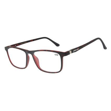 Armação Para Óculos de Grau Masculino Chilli Beans Retangular Tartaruga LV.IJ.0110-0601