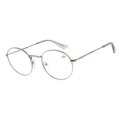 Armação Para Óculos de Grau Unissex Chilli Beans Redondo Grafite LV.MT.0338-2424