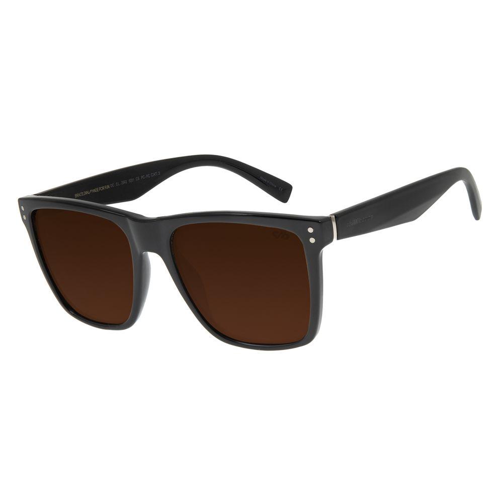 Óculos de Sol Masculino Chilli Beans Bossa Nova Marrom OC.CL.2542-0201