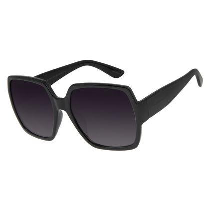 Óculos de Sol Feminino Chilli Beans Oversized Quadrado Preto OC.CL.2851-2001