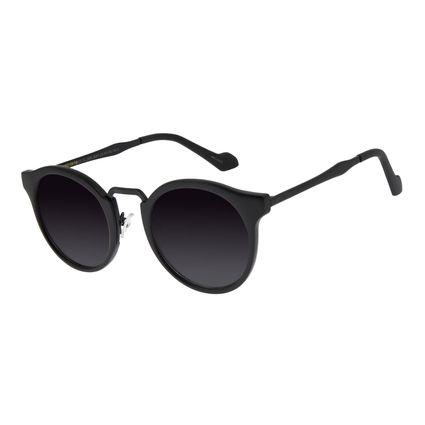 Óculos de Sol Feminino Chilli Beans Redondo Preto OC.CL.2856-2001