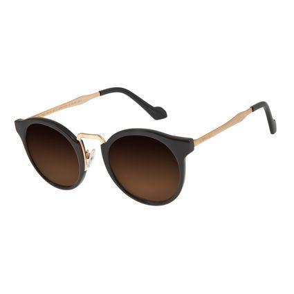 Óculos de Sol Feminino Chilli Beans Redondo Marrom OC.CL.2856-5702