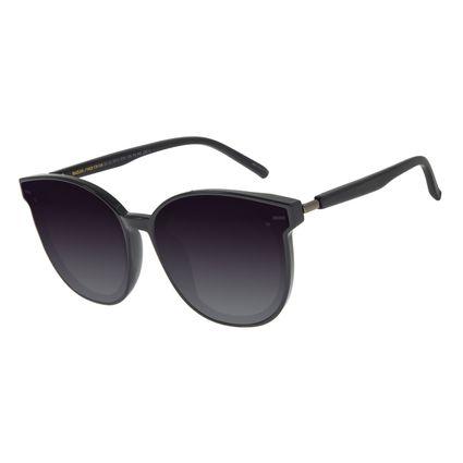 Óculos de Sol Feminino Chilli Beans Quadrado Preto OC.CL.2912-2001