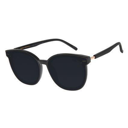 Óculos de Sol Feminino Chilli Beans Quadrado Preto OC.CL.2912-0101