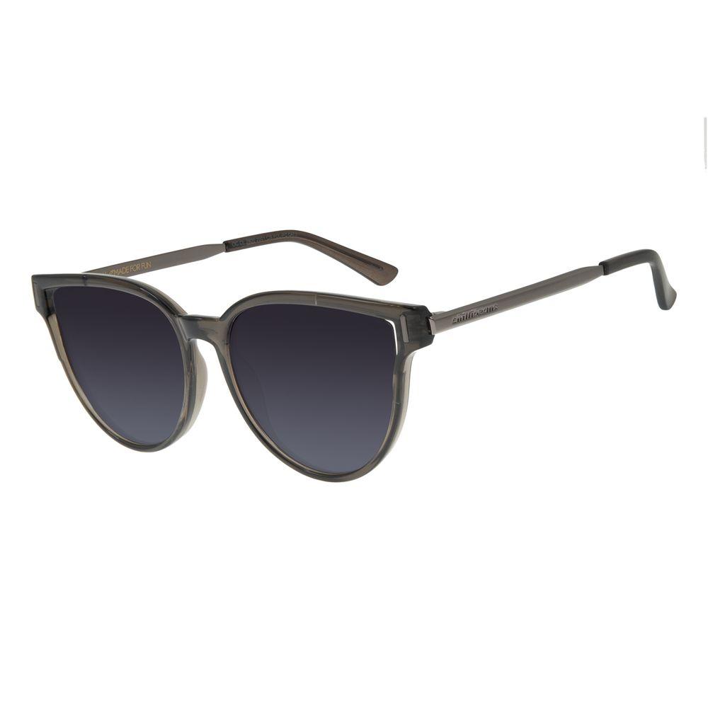 Óculos de Sol Feminino Chilli Beans Quadrado Marrom Polarizado OC.CL.2920-2001