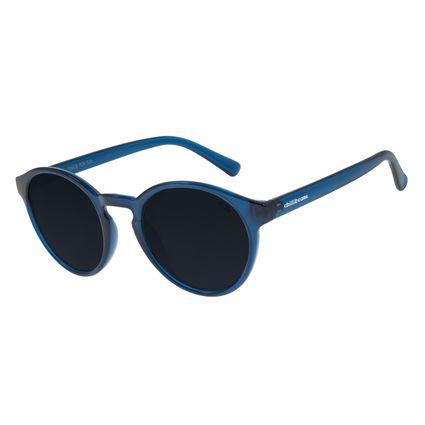 Óculos de Sol Unissex Chilli Beans Redondo Azul OC.CL.2924-0108
