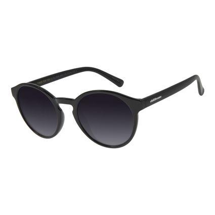 Óculos de Sol Unissex Chilli Beans Redondo Preto OC.CL.2924-2001
