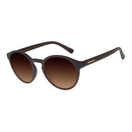 Óculos de Sol Unissex Chilli Beans Redondo Marrom OC.CL.2924-5702