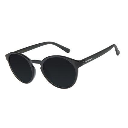 Óculos de Sol Unissex Chilli Beans Redondo Preto OC.CL.2924-0101