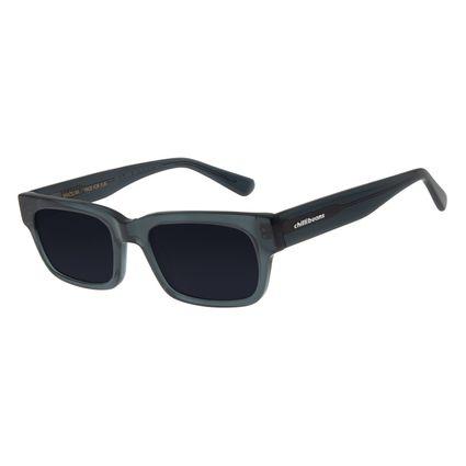 Óculos de Sol Feminino Chilli Beans Quadrado Cristal Cinza OC.CL.2929-0504