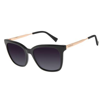 Óculos de Sol Feminino Chilli Beans Quadrado Preto Polarizado OC.CL.2933-2001