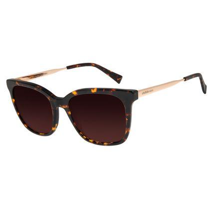 Óculos de Sol Feminino Chilli Beans Quadrado Marrom Polarizado OC.CL.2933-5702