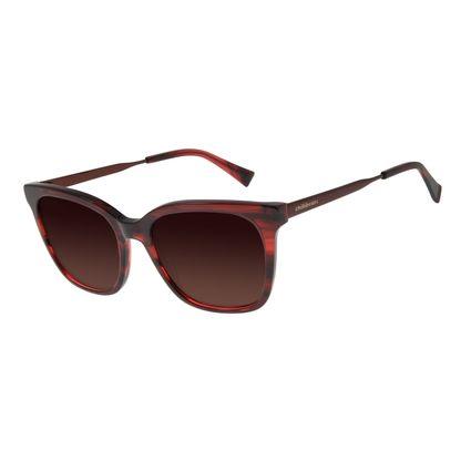 Óculos de Sol Feminino Chilli Beans Quadrado Tartaruga Polarizado OC.CL.2933-5706