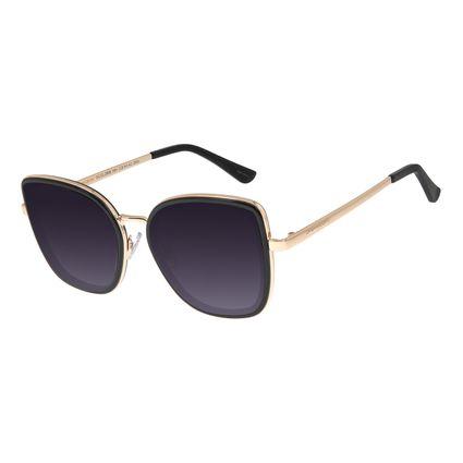 Óculos de Sol Feminino Chilli Beans Quadrado Preto OC.CL.2938-2001