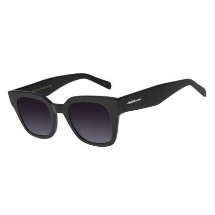 Óculos de Sol Feminino Chilli Beans Quadrado Preto OC.CL.2968-2001