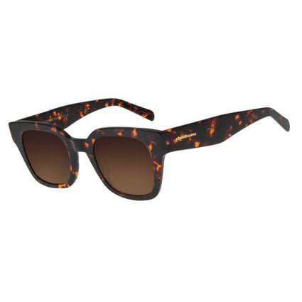 Óculos de Sol Feminino Chilli Beans Quadrado Tartaruga OC.CL.2968-5706