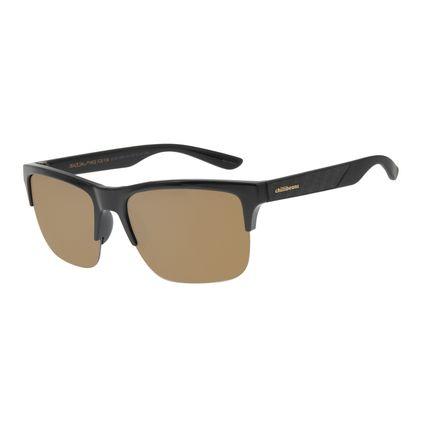 Óculos de Sol Masculino Chilli Beans Esportivo Fibra de Carbono Dourado OC.ES.1208-2101