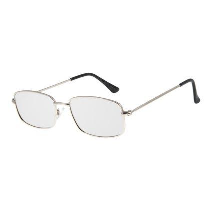 Óculos De Sol Masculino Chilli Beans Quadrado Metal Prata OC.MT.2597-0707