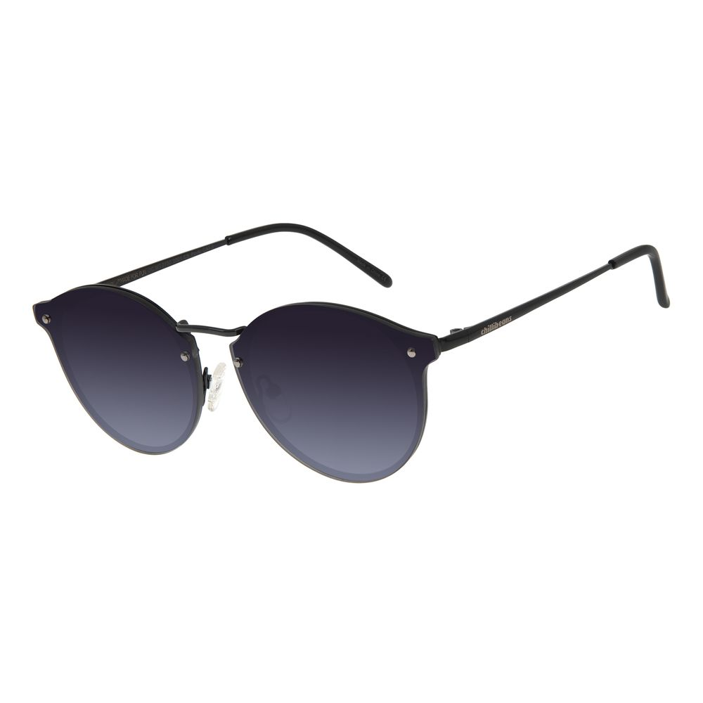 Óculos de Sol Feminino Chilli Beans Redondo Preto OC.MT.2730-2001