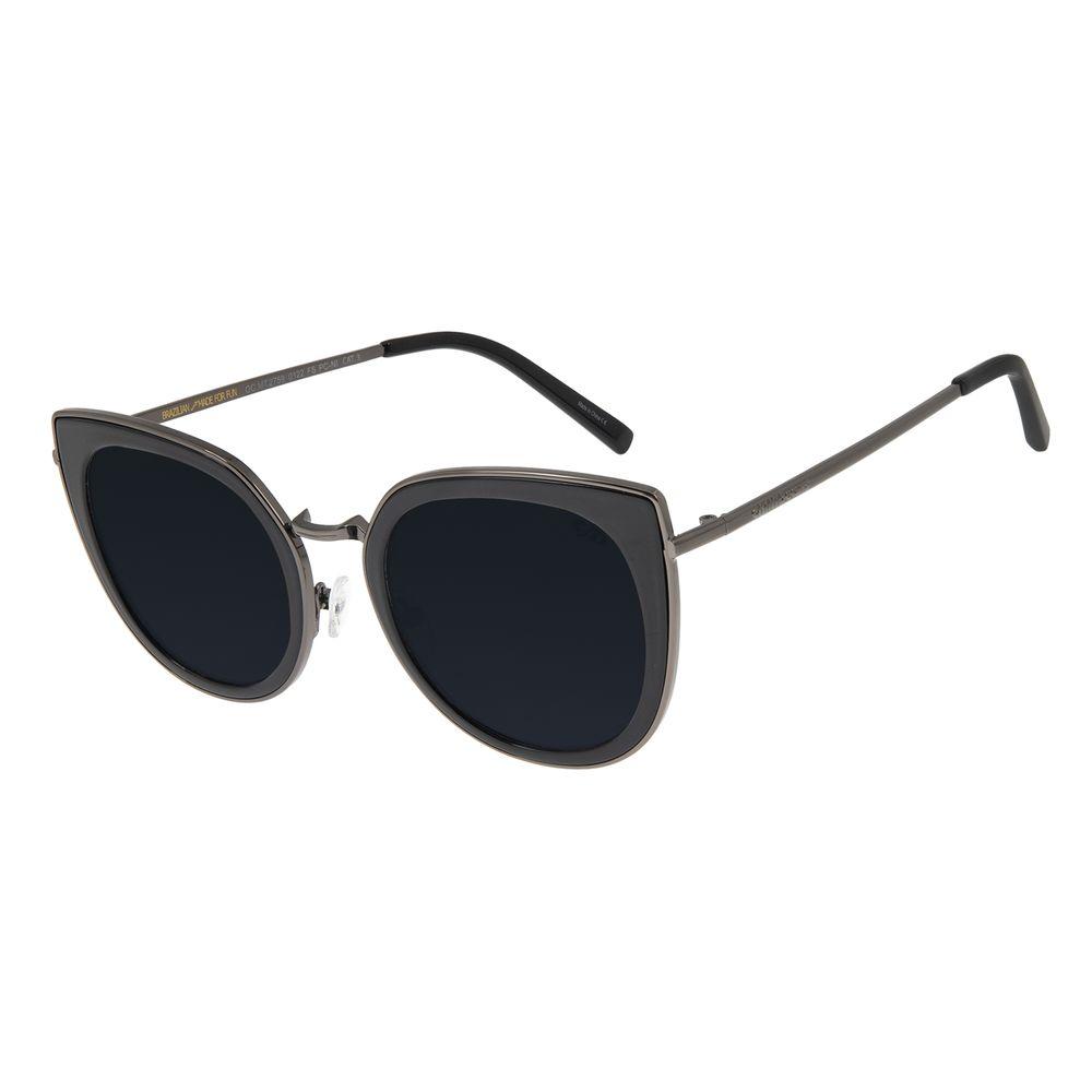 Óculos de Sol Feminino Chilli Beans Gatinho Ônix OC.MT.2759-0122
