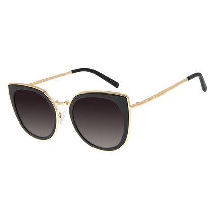 Óculos de Sol Feminino Chilli Beans Gatinho Dourado OC.MT.2759-2021