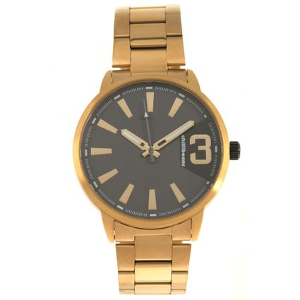 Relógio Analógico Masculino Chilli Beans Metal Casual Dourado RE.MT.0965-2221