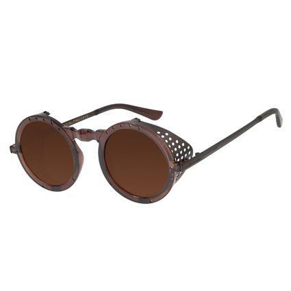 Óculos De Sol Unissex Alok Icônico 2.0 Marrom OC.CL.2552-0202