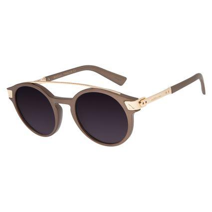 Óculos de Sol Unissex Chilli Beans Alok Double Bridge Ouro Velho OC.CL.2956-2067
