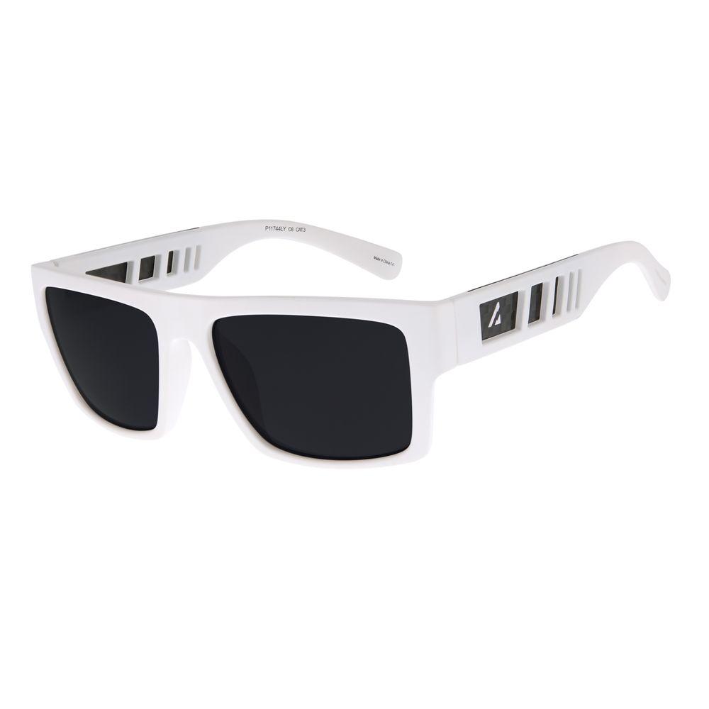 Óculos de Sol Masculino Chilli Beans Alok Classics.Tech Branco OC.CL.2958-0119