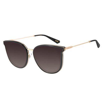 Óculos de Sol Feminino Chilli Beans Alok Quadrado Preto OC.CL.2959-2001