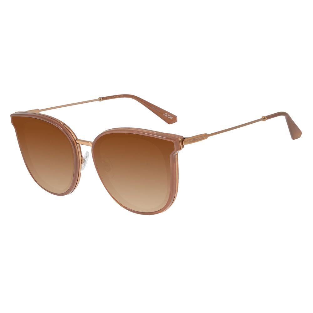 Óculos de Sol Feminino Chilli Beans Alok Quadrado Marrom OC.CL.2959-2002