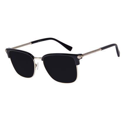 Óculos de Sol Masculino Chilli Beans Alok Classics.Tech Jazz Preto OC.CL.2963-0101