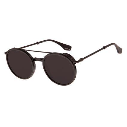Óculos de Sol Unissex Alok Dia dos Namorados Double Bridge Preto OC.CL.2964-0101