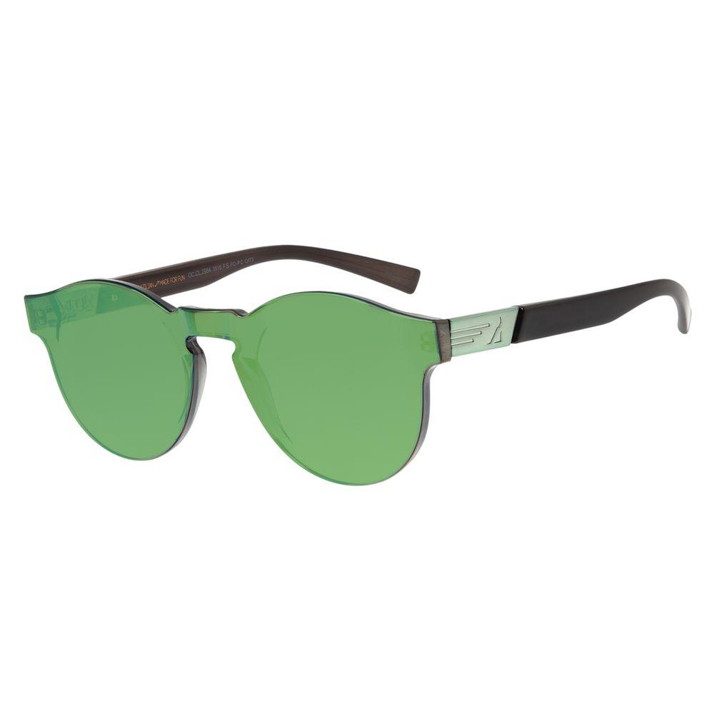 Óculos de Sol Feminino Chilli Beans Alok Block.Tech Verde Espelhado OC.CL.2984-2515