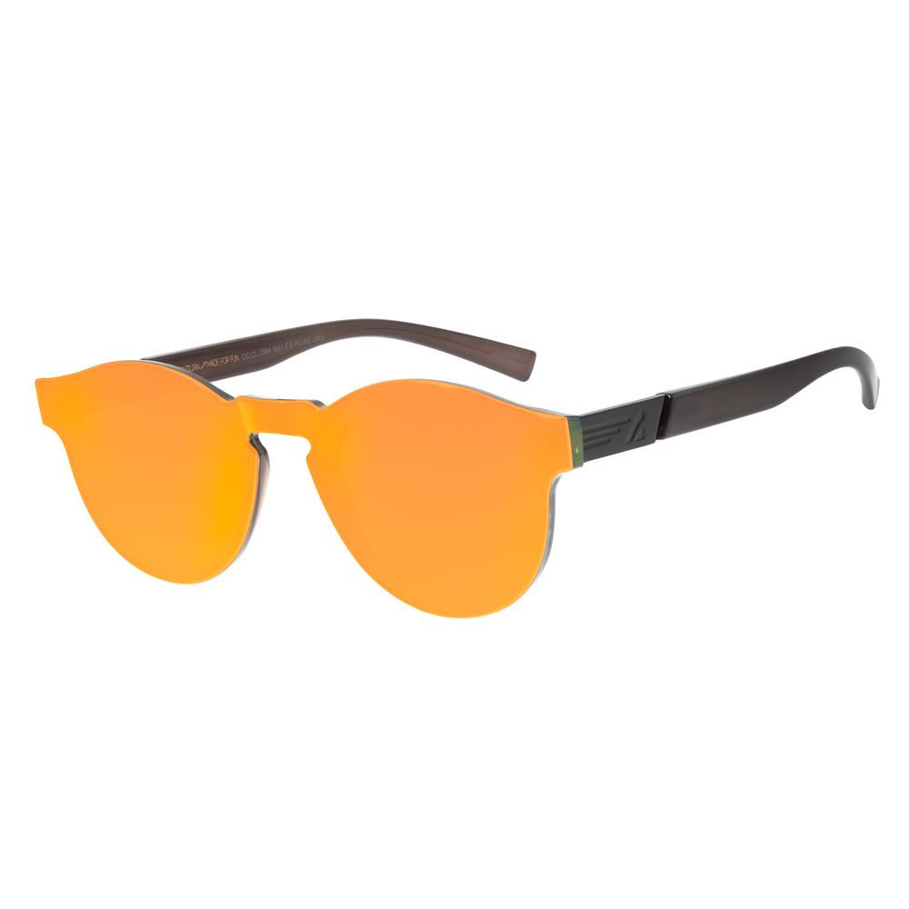 Óculos de Sol Feminino Chilli Beans Alok Block.Tech Laranja Espelhado OC.CL.2984-9801