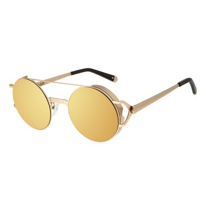 Óculos de Sol Unissex Chilli Beans Alok Headphone Dourado OC.MT.2295-2121