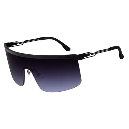 Óculos de Sol Unissex Chilli Beans Alok Máscara.Tech Preto OC.MT.2801-2001