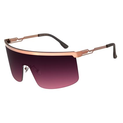 Óculos de Sol Unissex Chilli Beans Alok Máscara.Tech Marrom OC.MT.2801-2002