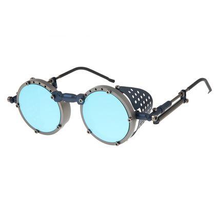 Óculos de Sol Unissex Alok Icônico Steampunk Ônix OC.MT.2803-0422