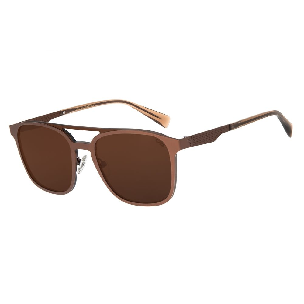 Óculos de Sol Masculino Chilli Beans Alok Classics.Tech Marrom OC.MT.2804-0202